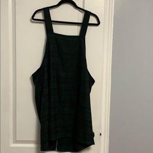 Checkered printed dress